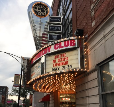 The Second City Comedy Club | #DateMe show | Lincoln Park | Chicago | Illinois