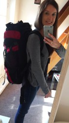 Backpacker's backpack | Europe Travel | Paris | France