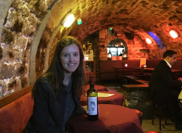 Chez George's underground wine bar | St Germain | Paris | France