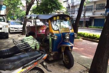 Tuk Tuk on the streets of Bangkok | Solo female traveler's guide to backpacking Thailand