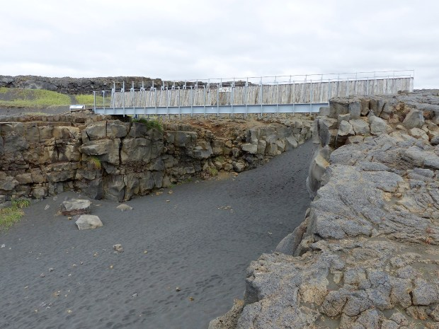 Bridge Between Continents   Reykjanes Peninsula   Iceland