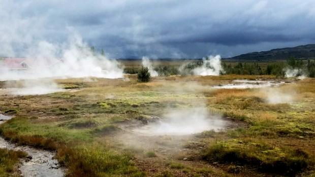 Geysir Hot Springs   The Golden Circle   Iceland