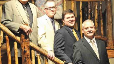 Photo of Marksmen Quartet will bring mountain gospel to Ringgold Depot May 13