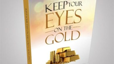 Photo of KEEP YOUR EYES ON THE GOLD – A book by Tony Zino drops in October @apostle_zino
