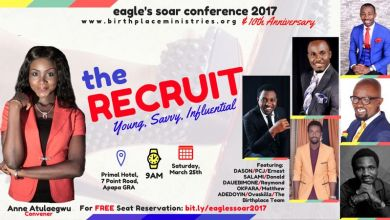 "Photo of EAGLE'S SOAR CONFERENCE 2017 ""The Recruit"" @AgraceyCharis"