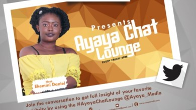 Photo of GIST: #AyayaChatLounge With Ekemini Daniel Every Friday @Ayaya_Media