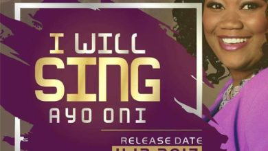 Photo of Ayo Oni Set To Release I WILL SING @AyoOniMusic #Anticipate