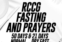 Photo of RCCG FASTING AND PRAYER GUIDE FOR 17 FEBRUARY 2020 MONDAY