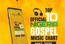 Photo of Official Nigerian Gospel Music Top 10 Chart [May 2020]