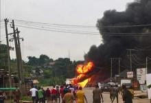 Photo of Massive Gas Explosion Rocks Iju, Lagos.
