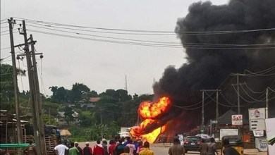 Photo of Massive Gas Explosion Rocks Iju, Lagos.