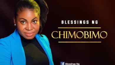 Photo of [Audio] Chimobimo By Blessings Ng