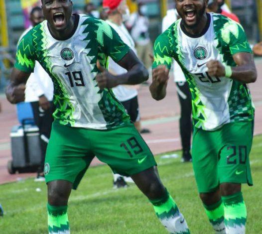 Photo of Nigeria's 1-0 Victory Over Benin.