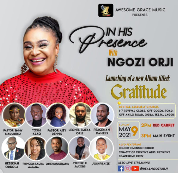 In His Presence with Ngozi Orji