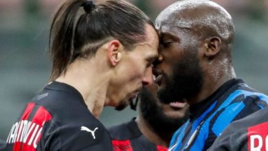 Photo of 'He wins for himself' – Lukaku Says Ibrahimovic Is Good For Serie A As Inter Forward Aims To Settle Feud With AC Milan Star