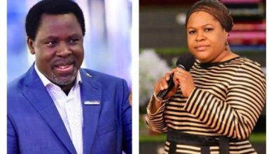 Photo of T.B Joshua's Wife Finally Revealed How He Died.