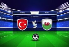 Photo of TODAY'S MATCH: Turkey VS Wales 5:00PM