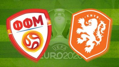 Photo of TODAY'S MATCH: North Macedonia VS Netherlands 5:00PM