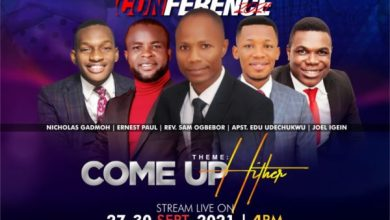 Photo of [EVENT] Prayer Conference 2021 – Come Up Hither