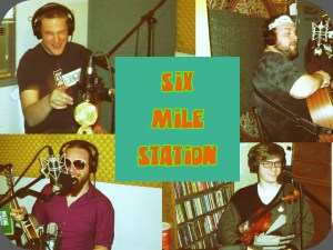 Tyson Schroeder, Spike McGuire, Alan Burton and Nathan Carter of Six Mile Station