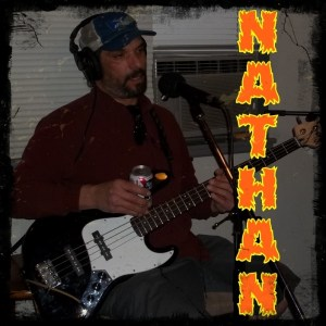 Nathan Habash - bass player for Hellbilly Bandits