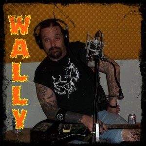 Wally Walden - lead guitar and singer for Hellbilly Bandits