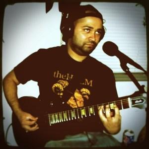 Alex Garcia, guitarist for Countress in Reno NV