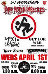 D.R.I. - Infecto Skeletons - Out For War - Liver Scars - Vampirates