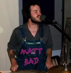Matt Bad - drums and vocals- Herd of Elephants