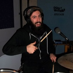 Jeff Knight, drummer for Silver