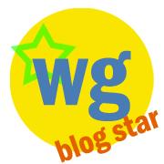 "Waking Girl Web Design ""Blog Star"" logo"