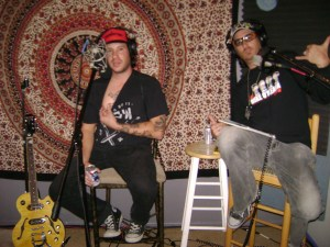 Matt Bode, Nick Ramirez and a nipple at the Dogwater Studios