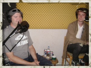 Chewie and Tom L. of Occupy Reno on the Worst Little Podcast.