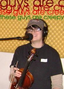 Kristin Pitman - these guys are creepy