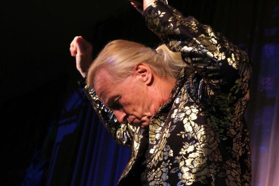 """Das """"Party macben"""" hatte der 69-jährige nicht verlernt. Foto: Björn Othlinghaus"""