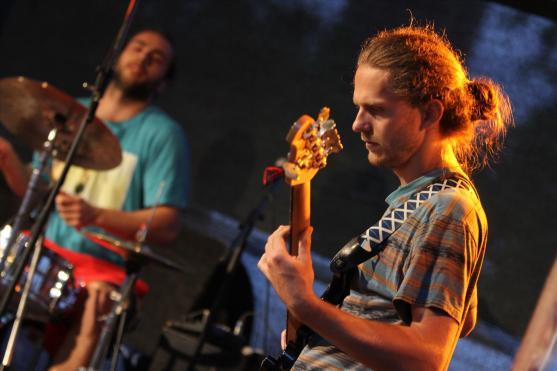 Leo Weichert (Bass). (Foto: Björn Othlinghaus)