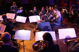 Versetaler Musikzug. (Foto: Björn Othlinghaus)