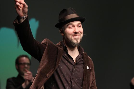 Moderator Marian Heuser. (Foto: Björn Othlinghaus)