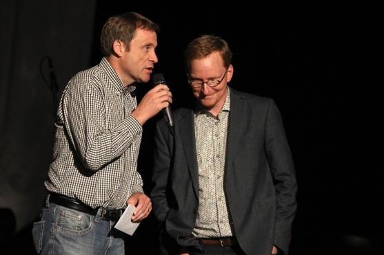 Winfried Lütke-Dartmann und Markus Scheidtweiler. (Foto: Björn Othlinghaus)