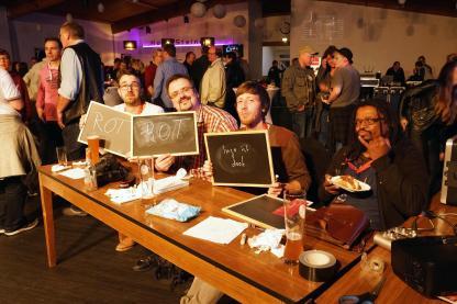 Die Jury. (Foto: Ingo Starink)