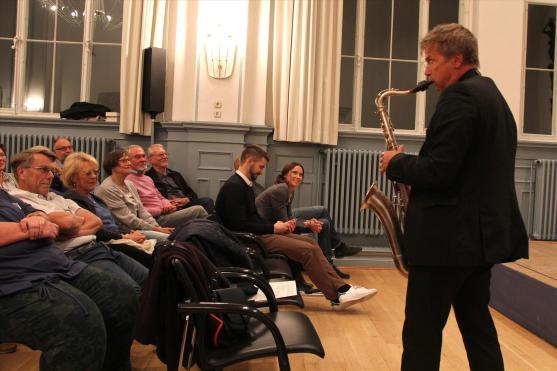 Musiker Norbert Labatzki. (Foto: Björn Othlinghaus)