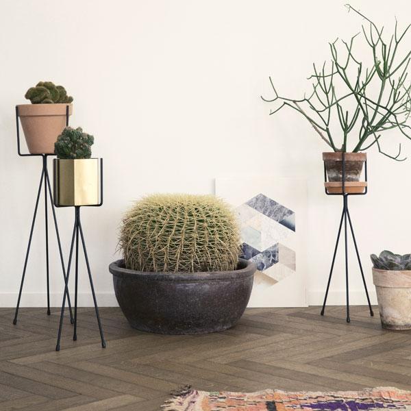 Ferm Living Plantenstandaard  WortelWoods