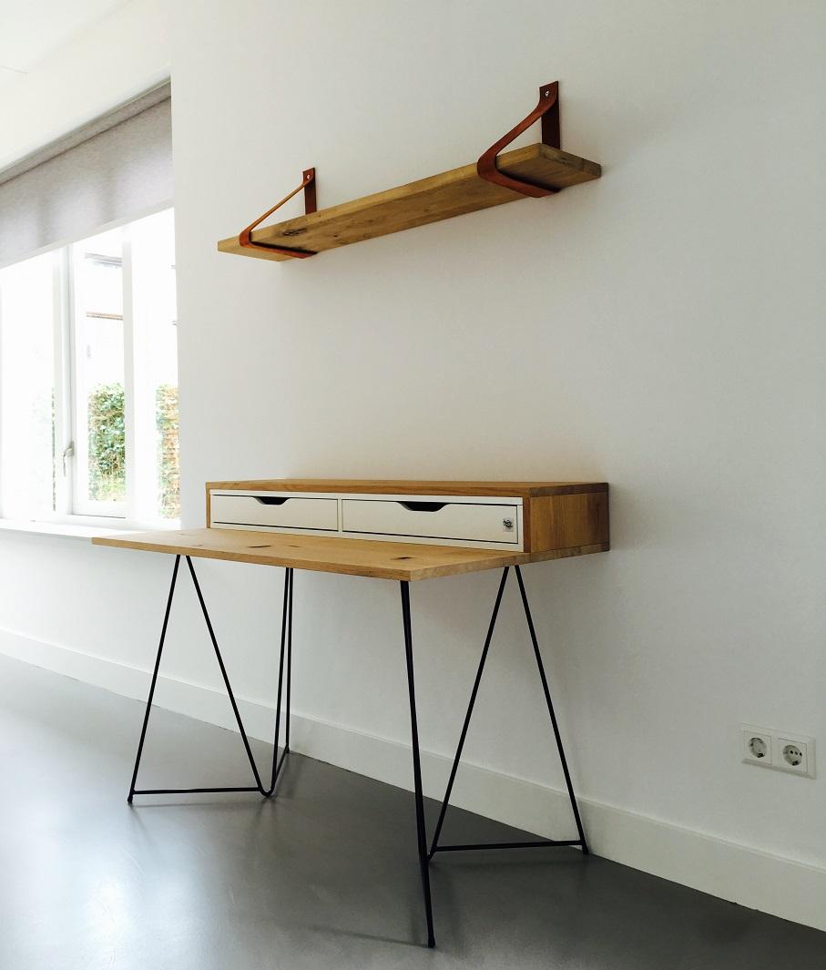 Leren blind metalen plankdragers voor wandplank