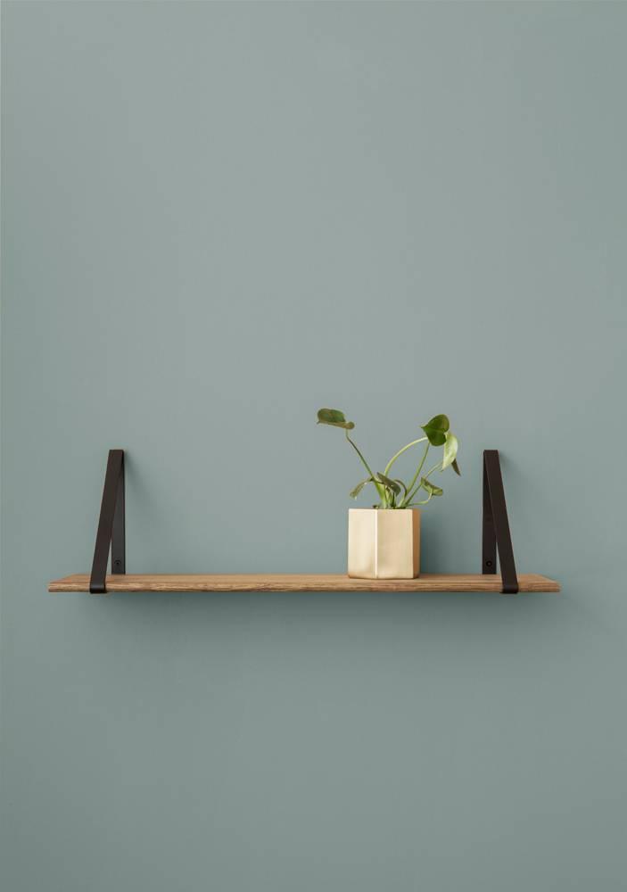 Leren blind metalen plankdragers voor wandplanken