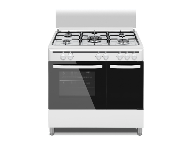 Cocina de Gas 5 quemadores VITROKITCHEN CB96PBB  WORTEN