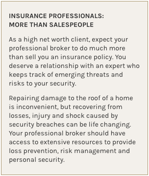 Insurance Professionals: More Than Salespeople