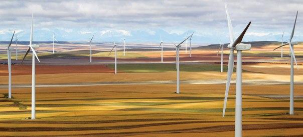 NaturEner Wind Turbine Farm Tour