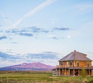 A cabin at J Bar L Ranch