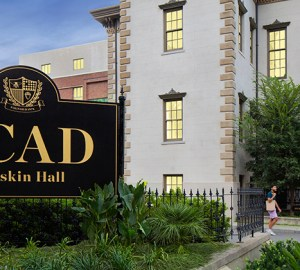 Ruskin Hall, Savannah College of Art and Design. Photo courtesy of SCAD