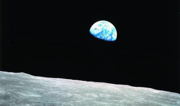 Apollo 8 on December 24, 1968